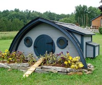 Hobbit Hole Pet & Play Houses