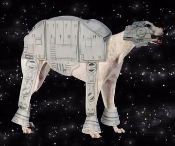 AT-AT Dog Costume