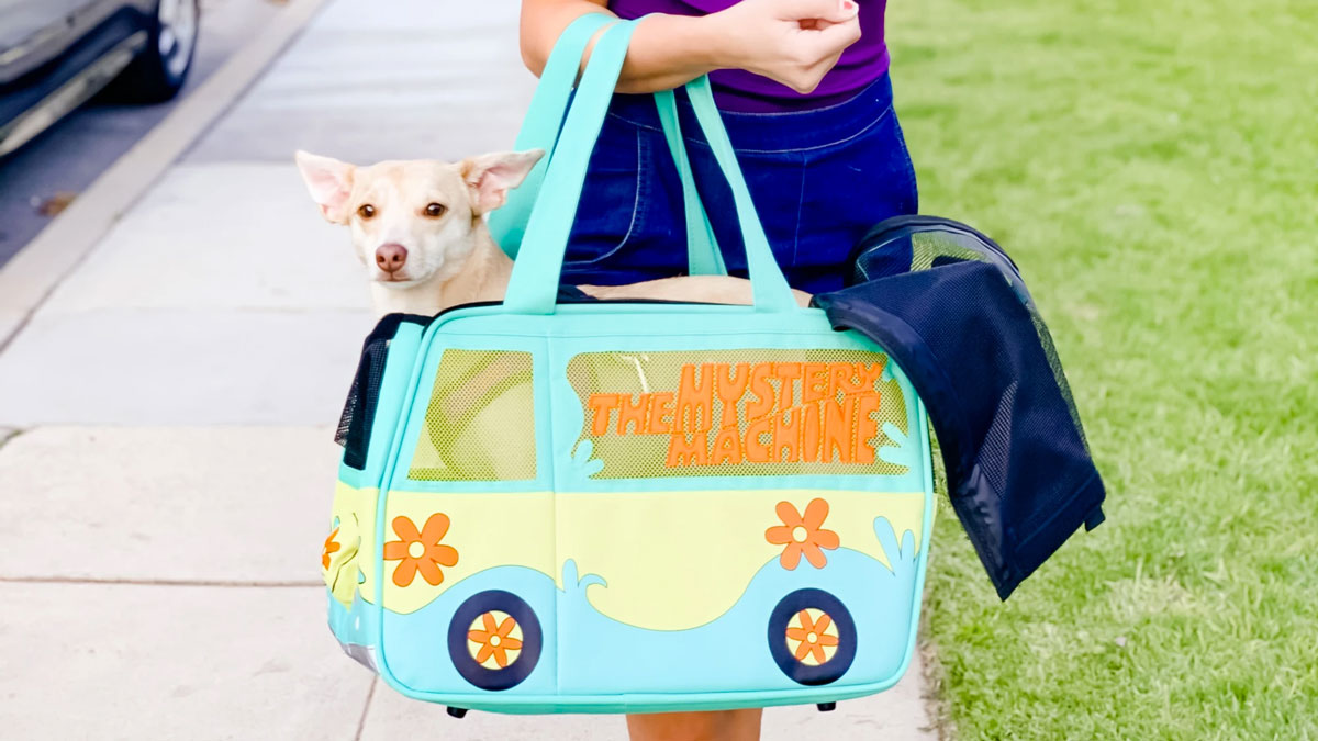 Scooby-Doo Mystery Machine Pet Carrier