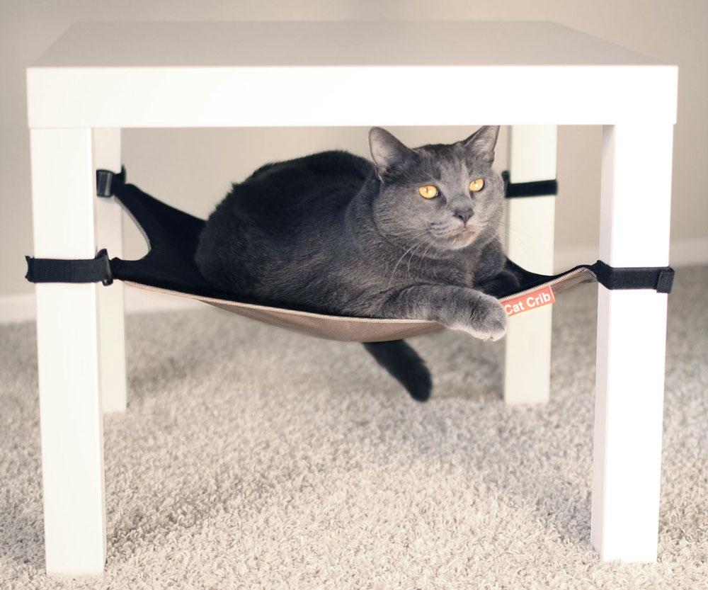 The Cat Crib ...