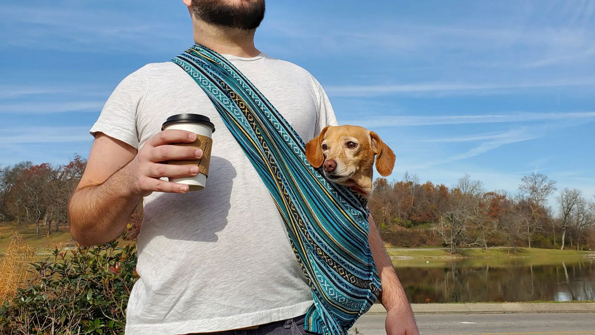 Walking Palm Dog Sling