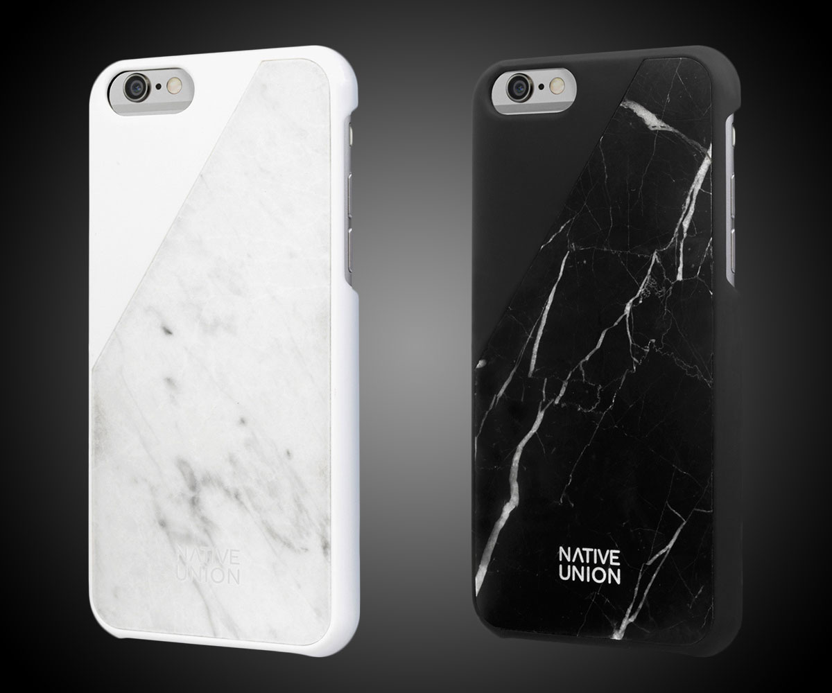 wholesale dealer 1425c e7816 CLIC - Real Marble iPhone Case