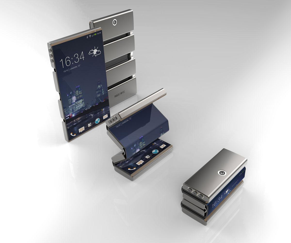 Dras Foldable Smartphone Concept Dudeiwantthat Com