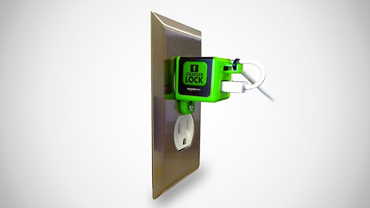 iChargerlock - Apple iPhone Charger & Cord Lock