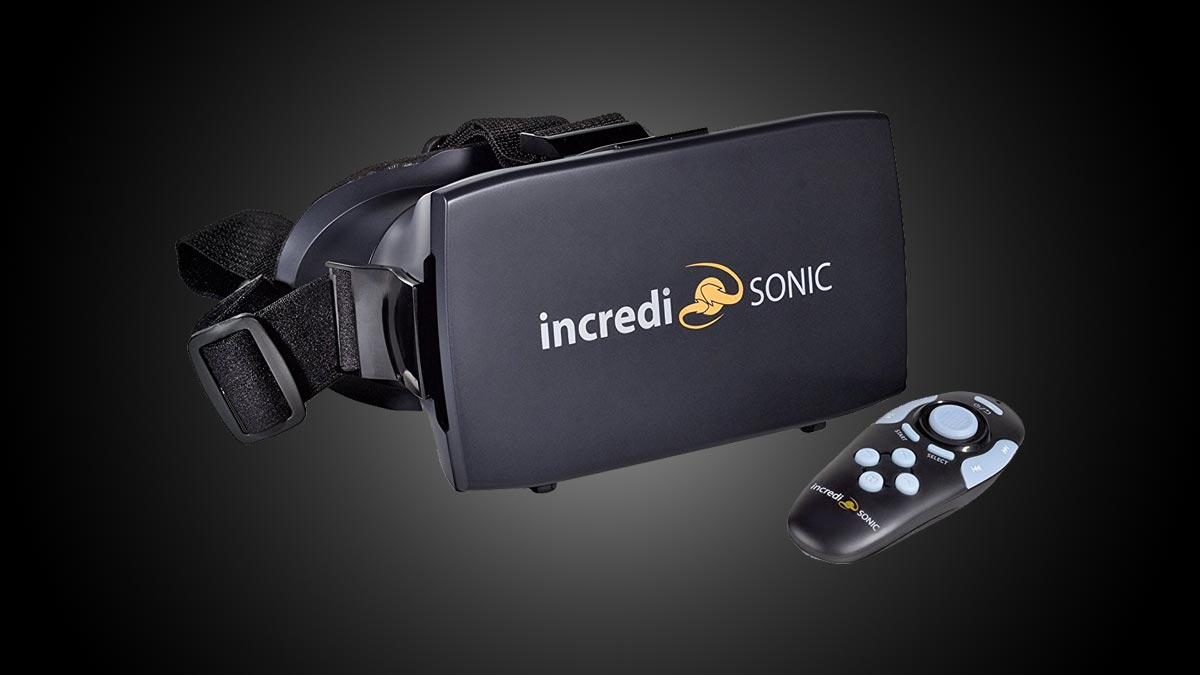IncrediSonic Smartphone VR Glasses