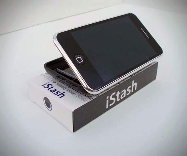 iStash Smartphone Storage Compartment