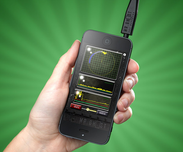 Mr. Ghost Smartphone EMF Detector