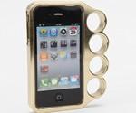 Brass Knuckles iPhone Case
