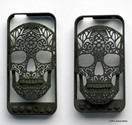 3D Printed Skull iPhone Case