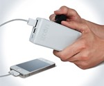 Hand Crank Phone Battery Backup