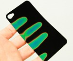 Heat Sensitive iPhone Backing Fingerprints