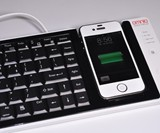 Dual iPhone-PC Keyboard