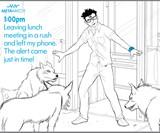 Strata Smartphone Watch Cartoon