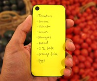 Paperback - iPhone Post-It Notes