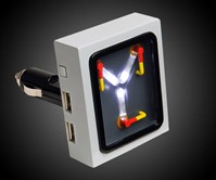 Flux Capacitor USB Car Charger
