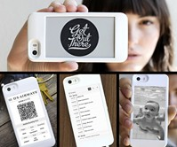 popSLATE E-ink Case for iPhone