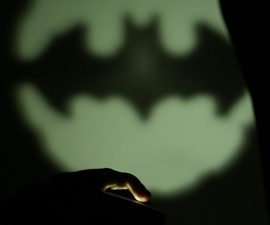 Bat-Signal Smartphone Light
