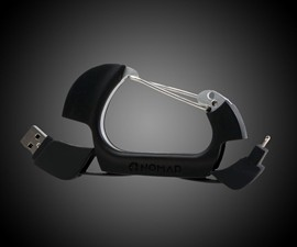 NomadClip USB & Lightning Cable Carabiner