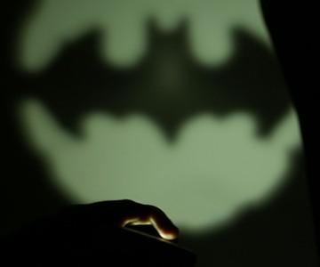 Bat-Signal Smartphone Light