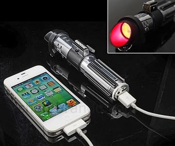 Darth Vader Lightsaber Portable Charger
