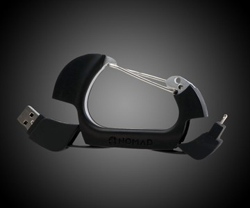 NomadClip USB & Lightning Cable Carabiner