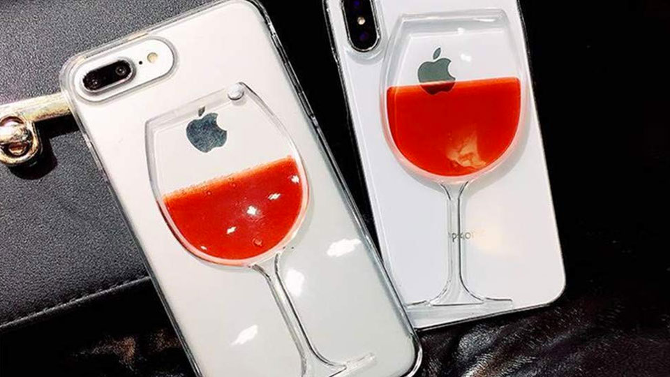 Wine Lover's iPhone Case