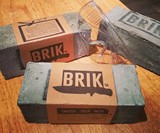 BRIK - Pocket Knife in a Concrete Block Gift Box