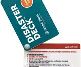 Disaster Deck Pocket Size Emergency Survival Cards