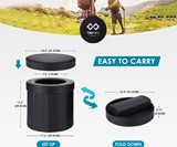 Portable Folding Toilet
