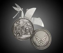 Air Force Coin Knife