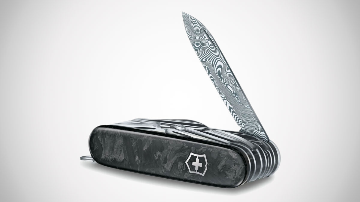 Victorinox Limited Edition Damast Steel Pocket Knife