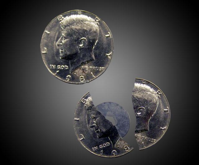 50 Cent Coin Knife