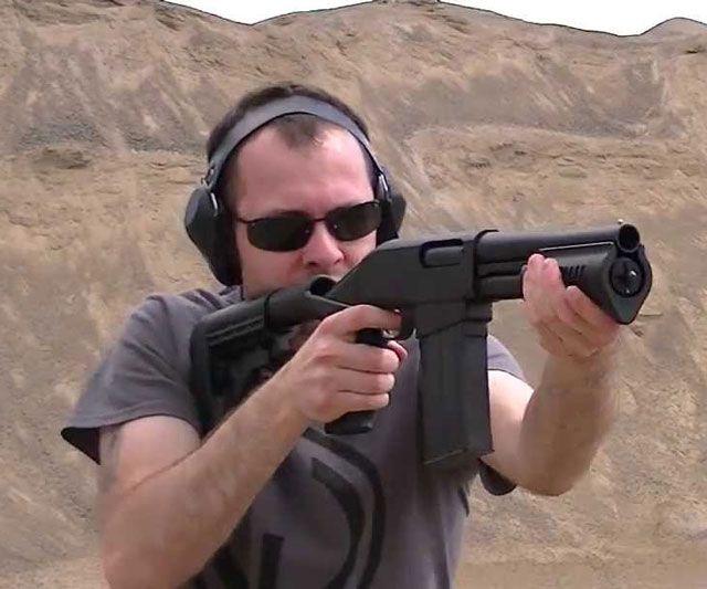 "Grizzly 8.5"" Magfed Shotgun"