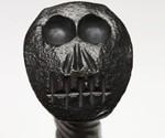 Railroad Spike Knife with Skull Head