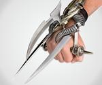 Alien Spiked Tri-Blade Hand Claw