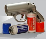 Mace Pepper Spray Gun in Beige