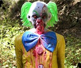 Bleeding Zombie Clown Target