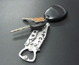 Mantis Bottleneck Knife on Keychain