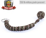 Monkey Fist Paracord Self Defense Keychain