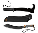 Zombie Apocalypse Survival Kit Gator Axe Pro and Machete