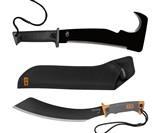 Zombie Apocalypse Survival Kit Gator Axe Pro and Machete