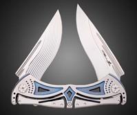 Buy Tighe Dual Blade Titanium Knife