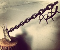 Chain Link Zombie Slayer Axe
