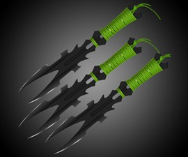 Dark Nexus Throwing Knife Set