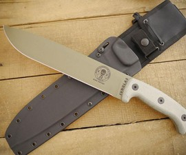 ESEE Junglas Dark Earth Knife
