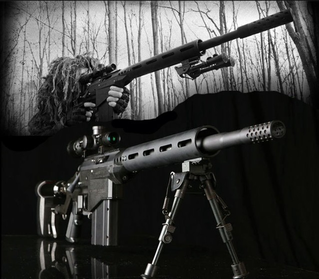 SAR12 Paintball Sniper Rifle