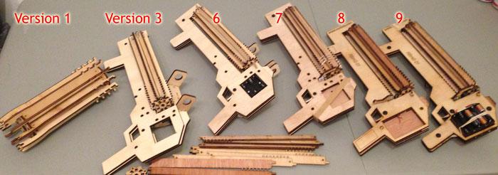 rubber band gun machine gun