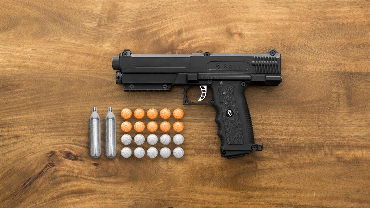 Salt Self Defense Gun Dudeiwantthat Com