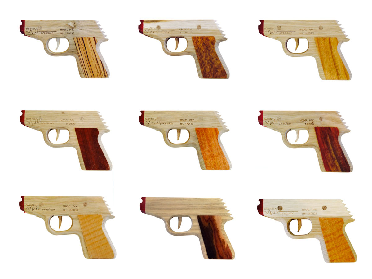 how to make a semi automatic lego rubber band gun