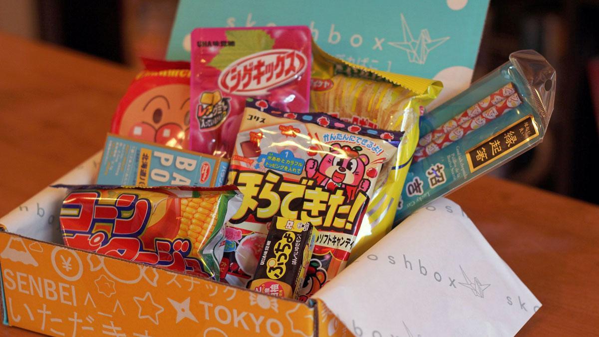 1 Year of Skoshbox Monthly Japanese Treats